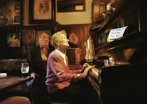 Willie Shine and Bernie, Sean's Bar, Athlone, Co Roscommon, Ireland