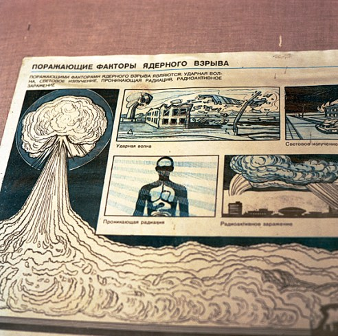 Radiation poster Pripyat