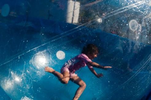 Girl in a Bubble California State Fair
