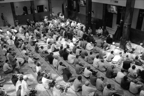 Listening to the Imam, Dar Al-Hijrah, Falls Church, VA 2013