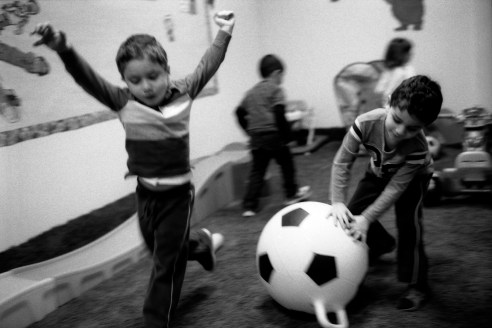 Children Playing During Recess, Blossom School, Orland Park, IL 2012