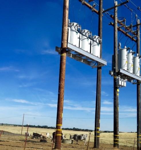 Powerlines Against Farmland