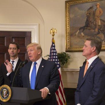 RAISE Act, Donald Trump, Tom Cotton