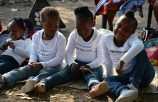 Children from the StartLion Programme tell the audience why they feel lions should be protected (Images: Varuna Jina).