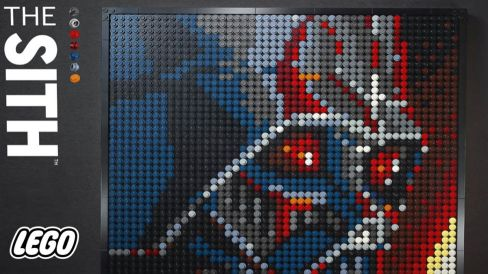 LEGO Star Wars Lego Art The Sith