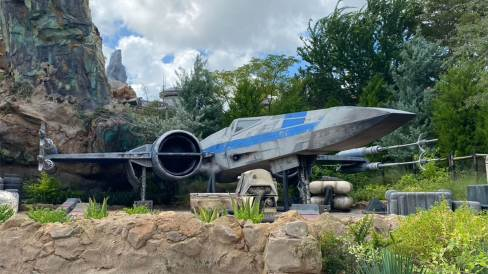 X-Wing at Galaxy's edge