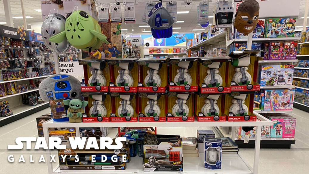 Target display of the Galaxy's Edge Collection