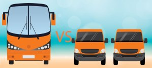 edgerent blog - to rent a bus or coach or to rent 2 vans