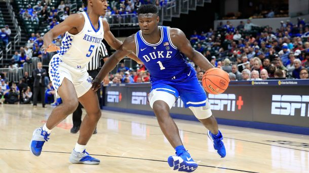 Zion Williamson Photo via: Andy Lyons/Getty Images