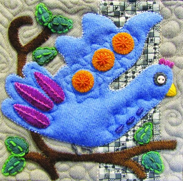 Sue Spargo bird