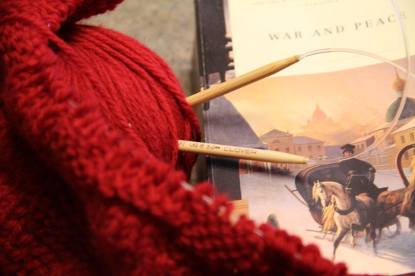 War and Peace and Knitting
