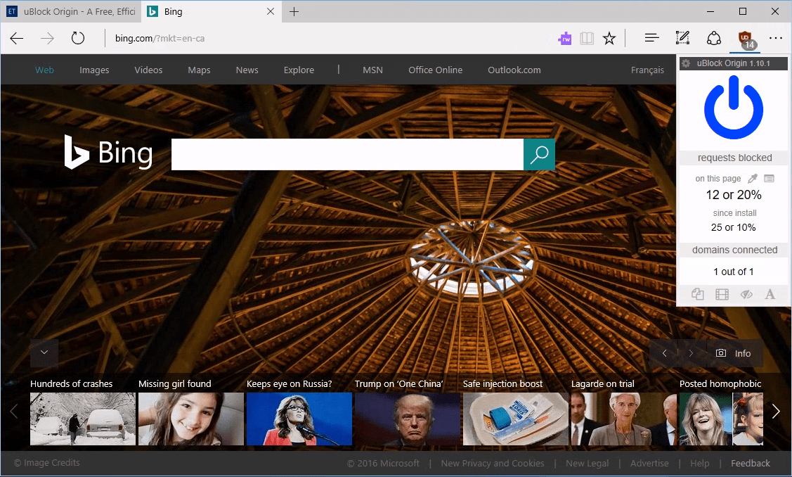 in the windows store after microsoft edge dev team announced that they were working to bring ublock origin to edge browser almost three months ago