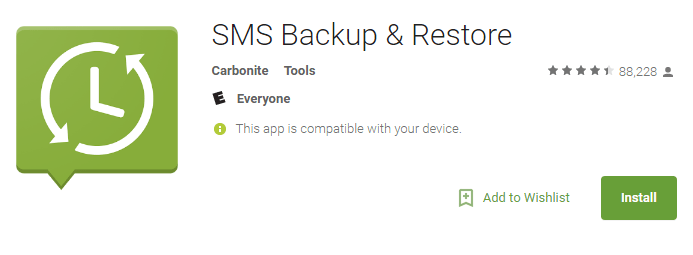 How To Read SMS Backup & Restore Backup Log File in Plain