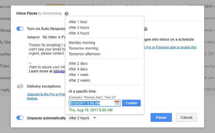 How To Pause Incoming Emails Temporarily in Gmail - Edge Talk
