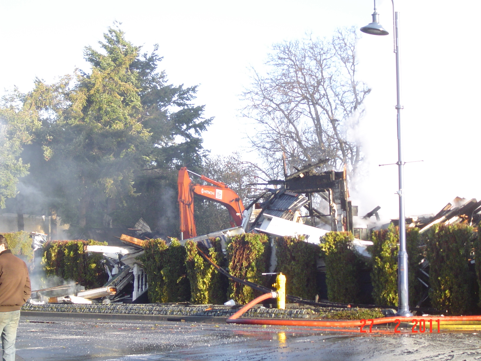 Demolition of the Lorne Hotel
