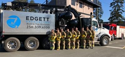 EdgettExcavating-FireFit-Team-withtruck