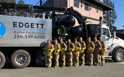 Edgett Excavating Sponsors FireFit 2019