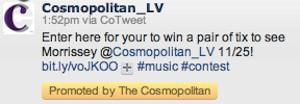 Cosmopolitan Morrissey