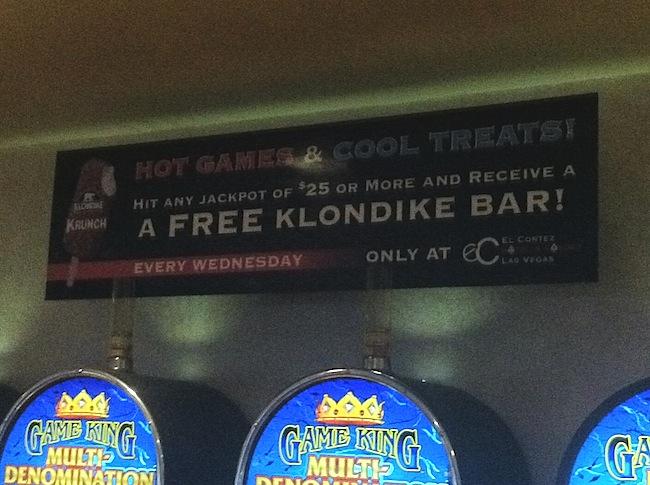 El Cortez Klondike Bar