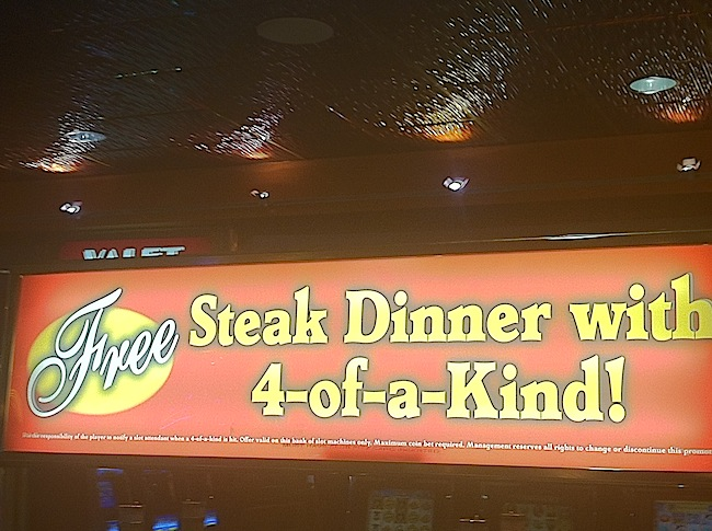 El Cortez Steak Dinner