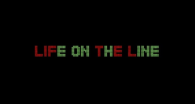 Life On The Line Movie Art