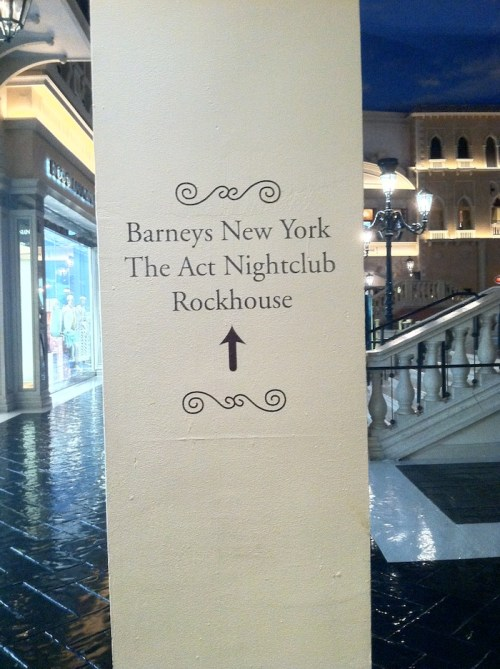 Rockhouse Sign