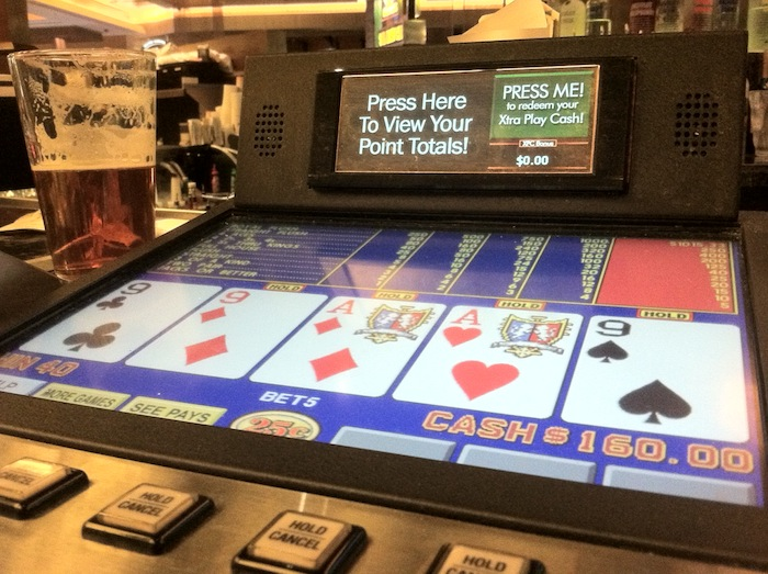 Video Poker And Beer Red Rock Las Vegas