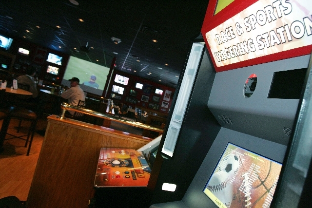 William Hill Sports Betting Kiosk