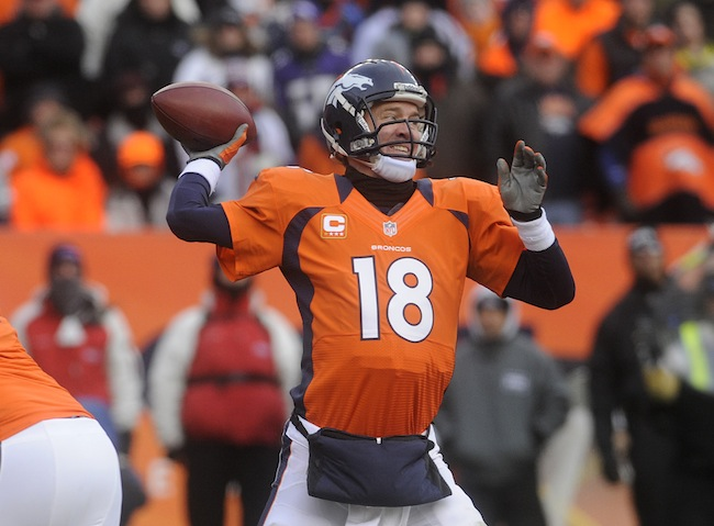 Peyton Manning Broncos