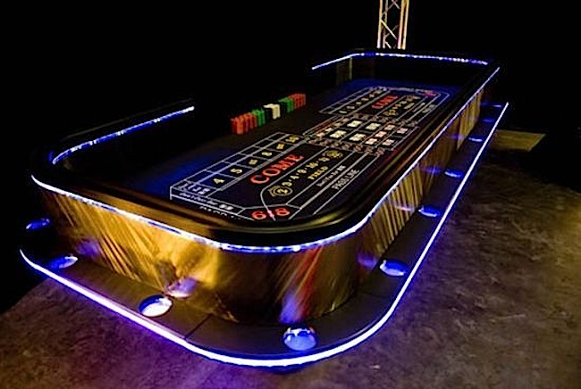 LED Craps Table