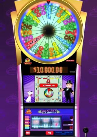 Monopoly Luxury Diamonds Slot Machine By WMS Gaming