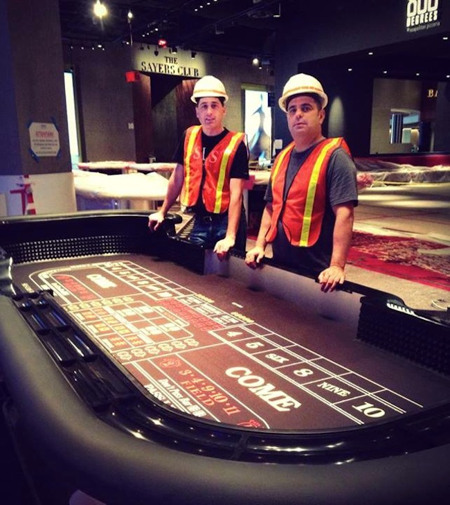 SLS Craps Table