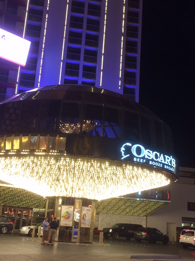 Oscar's Steakhouse at the Plaza in Downtown Vegas