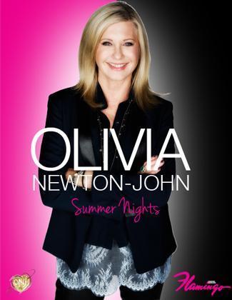 Olivia Newton John Flamingo Las Vegas