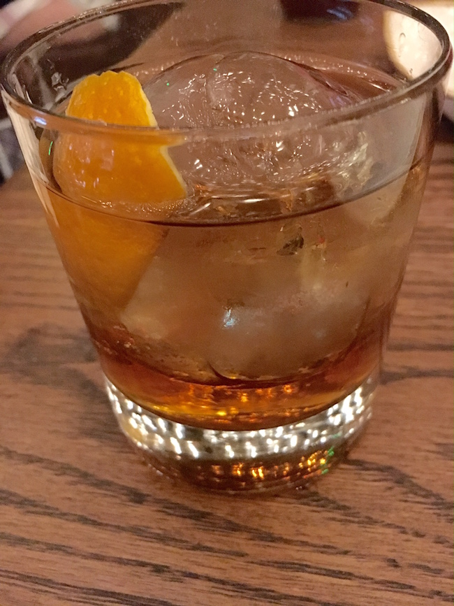 Old Fashioned at Yardbird Las Vegas