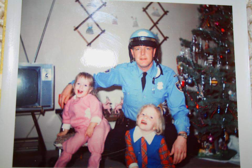 Here is a Photo of My Dad Marty Witting, in his Edgewater PD uniform. Christmas 1969. From Caryn Wittig Thomas