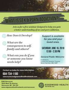 Free seminar - sex and porn addiction