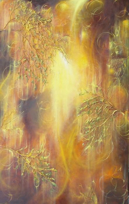 Unforgotten Times painting by Nancyanne Cowell
