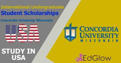 International Undergraduate Student Scholarships at Concordia University Wisconsin, USA