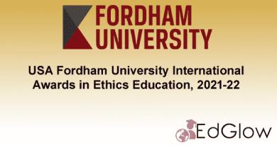 Fordham University International Awards