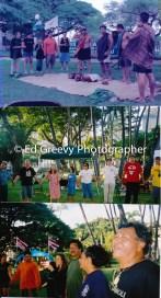 Hawaii protest at `Iolani Palace C2002_