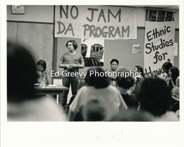 John Furman speaks at Ethnic Studies meeting 1972_