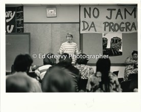 Scott Steuber testifies at Ethnic Studies meeting 1972