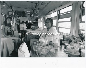 Sand Island resident in her converted bus 4090-1-12 11-10-79