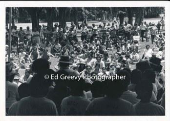 Ad Hoc rally at Waikiki Shell. 2405-2-2A 1971