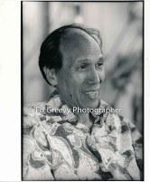 Dr. Kekuni Blaisdell at home. 7088-1-33 5-30-93
