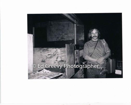 Ed Greevy at Waiahole-Waikane community fair. C1975