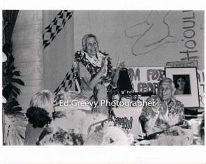 Marion Kelly at 80th birthday celebration, John Kelly at rt. 9033 6-99