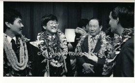 Roland Kotani, second from rt. with State House members. 6075 1-88