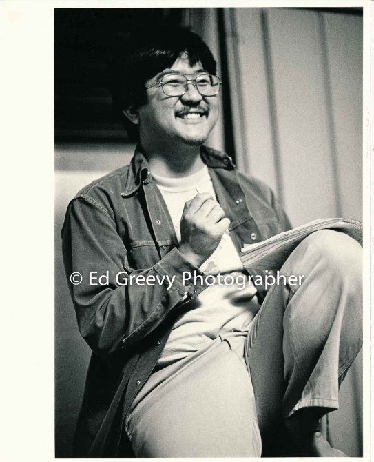 State House member and Progressive actvist, Roland Kotani at Ka Huliau meeting. 5089-12-18 1982